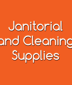 Janitorial and Cleaning Supplies