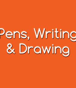 Pens, Writing & Drawing