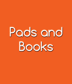 Pads and Books