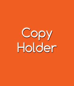 Copy Holder