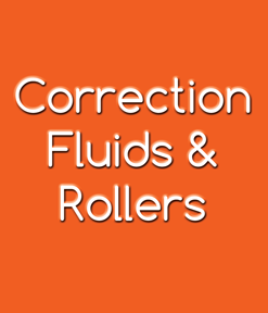 Correction Fluids & Rollers