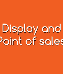 Display and Point of Sale