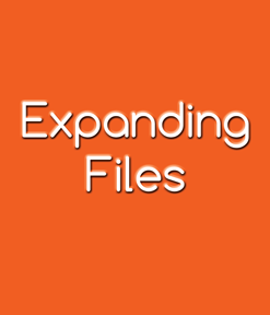Expanding Files